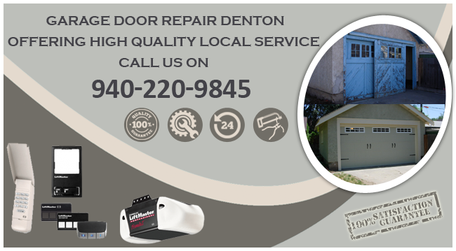 Garage Door Repair Denton TX